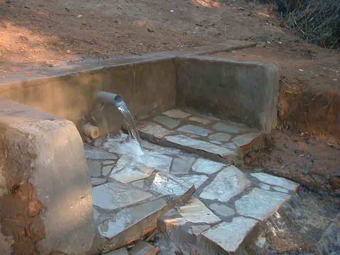 Ngouba-Elim Sortie d'eau actuelle
